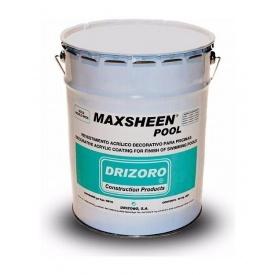 Акриловое покрытие для бассейнов Drizoro MAXSHEEN POOL 25 кг синий