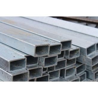 Труба профильная прямоугольная стальная 3сп5 40х20х2 мм