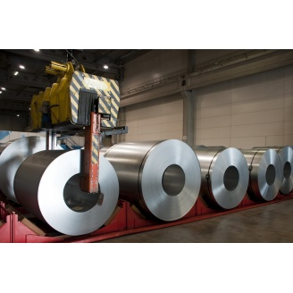 Рулонная оцинкованная сталь DX510 0,8х1250 мм
