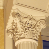 Декоративный карниз из полимербетона