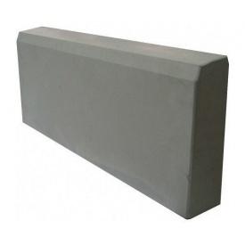 Бордюрный камень 500x210x60 мм серый