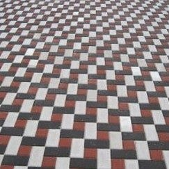 Тротуарная плитка  Кирпич Стандартный 200х100х80 мм черная