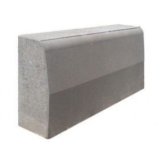 Поребрик дорожный 1000x200x80 мм серый