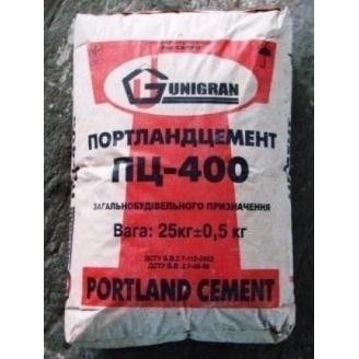 Портландцемент ЮНИГРАН ПЦ-400 25 кг