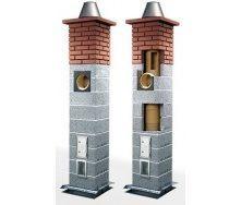 Дымоходная система Icopal Wulkan СI160-eko с вентиляцией 6,2 м