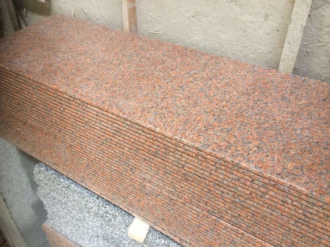 Столешница кухонная из камня Rosso Toledo 2 см толщиной