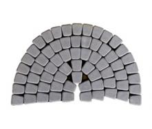 Тротуарна плитка ЮНІГРАН Гамма 60 мм сірий стандарт
