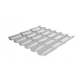 Металлочерепица RAUNI Standart 1180/1100 мм 0,5 мм MAT Polyester SeAH Steel (Корея) RAL 9006