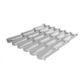 Металлочерепица RAUNI Premium 1180/1100 мм 0,5 мм MAT Polyester SeAH Steel (Корея) RAL 9006