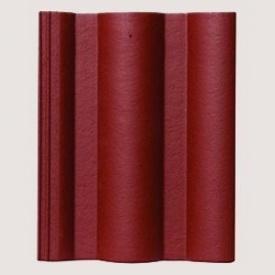Цементно-піщана черепиця Leie Toscana Basic червона