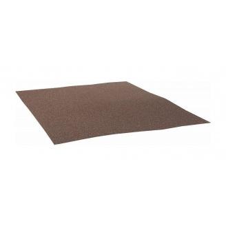 Плоский лист QueenTile 1х1,25 м brоwn