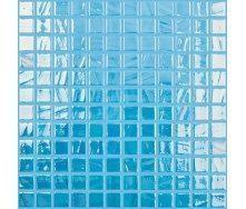 Мозаїка скляна Vidrepur Titanium SKY BLUE/TURQUOISE 733 300х300 мм