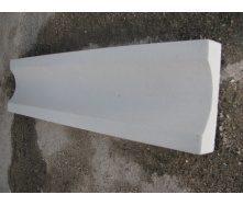 Відлив дорожній 600х160х40 мм сірий