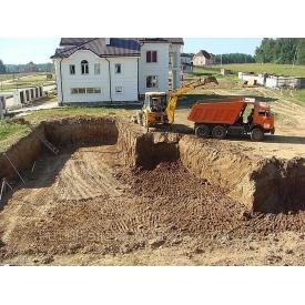 Копание траншеи с вывозом грунта