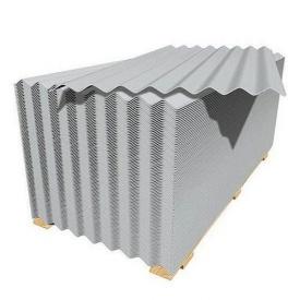 Шифер 8-ми волновой серый
