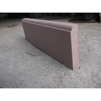 Бордюр тротуарный 600х185х40 мм коричневый
