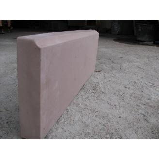бордюр тротуарный 600х210х50 мм коричневый