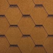 Битумная черепица Ruflex Sota 1000х318 мм золотой песок