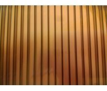 Полікарбонат стільниковий Greenhouse 6 мм 2,1х6 м бронза