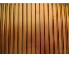 Полікарбонат стільниковий Greenhouse 10 мм 2,1х6 м коричневий