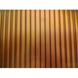Поликарбонат сотовый Greenhouse 8 мм 2,1х6 м коричневый