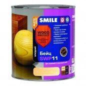 Бейц алкидный SMILE SWP-11 WOOD PROTECT Elite 0,75 л черное дерево