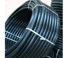 Труба полиэтиленовая EVCI PLASTIK для водоснабжения 6 Атм 50x2,5 мм 100 м черный
