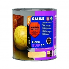 Бейц алкідний SMILE SWP-11 WOOD PROTECT Elite 0,75 л каштан