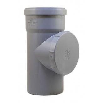 Ревизия 110 мм серый