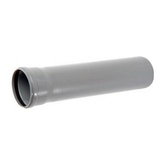 Труба ПВХ канализационная 110x2,3 мм 1 м