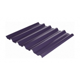 Профнастил Rauni HC-44 1055/1010 мм 0,45 мм MAT Polyester SeAH Steel (Корея) RAL 7024