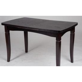 Стол обеденный Микс мебель Леон 1100+400x700x760 мм венге