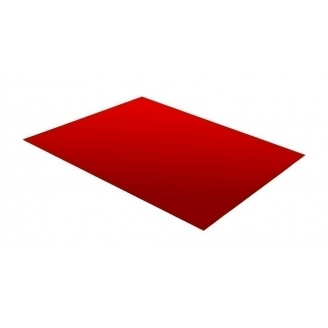 Гладкий лист RAUNI 1250 мм 0,45 мм Polyester (Германия) RAL 3011