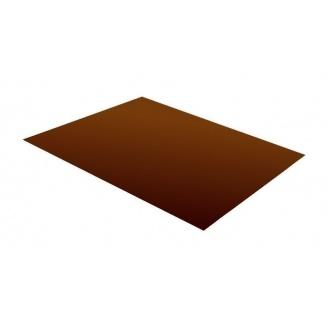 Гладкий лист RAUNI 1250 мм 0,5 мм MAT Polyester (Корея) RAL 8017
