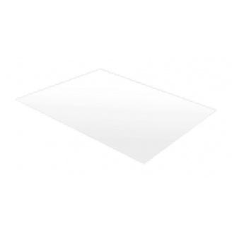 Гладкий лист RAUNI 1250 мм 0,45 мм Polyester (Корея) RAL 9003