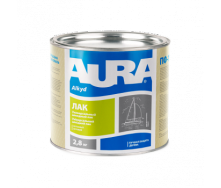 Лак яхтенный Aura А 2,5 кг полуматовый