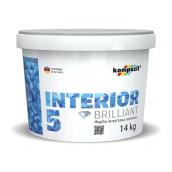 Краска интерьерная латексная Kompozit INTERIOR 5 матовая 14 л снежно-белый