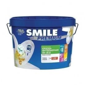 Краска интерьерная SMILE SI-23 PREMIUM латексная 14 кг белый
