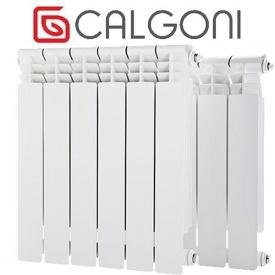 Радиатор алюминиевый Calgoni Alpa PRO 580x80x96 мм белый