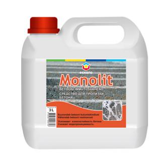 Средство для пропитки бетона Eskaro Monolit 3 л