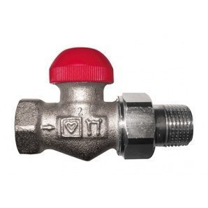 Термостатичний клапан HERZ TS-90-V прохідний 3/8 дюйма (1772365)