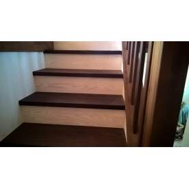 Лестница из термоясеня