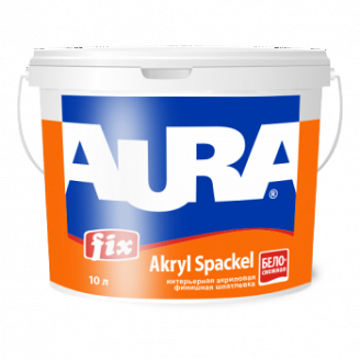 Шпаклевка Aura Fix Akryl Spackel 16,5 кг