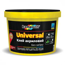 Клей акриловий Kompozit UNIVERSAL 1 кг