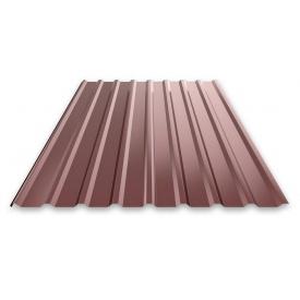 Профнастил 0,3 мм 2х0,95 м коричневый