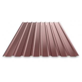 Профнастил 0,3 мм 2х0,95 м коричневий