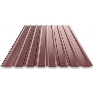 Профнастил 0,3 мм 1,5х0,95 м коричневый