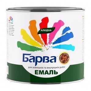Емаль алкідна Барва 2,6 кг зелений