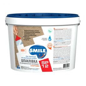 Шпатлевка SMILE SP-12 стартовая 5 кг