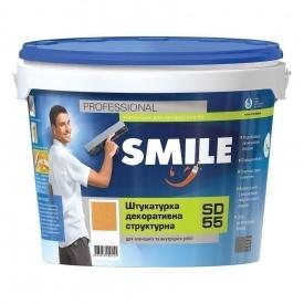 Штукатурка декоративная SMILE SD-55 короед 1,0-1,5 мм 16 кг